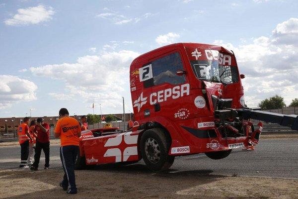 Coup de Trafalgar hier dans la course 2 à Jarama !!!
