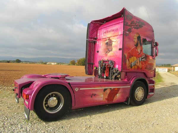 Nouveauté ! Le new Scania des transports Guérin
