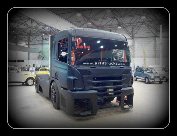 Le Scania d'Artur Fidalgo est arrivé ... TERRIBLE !!