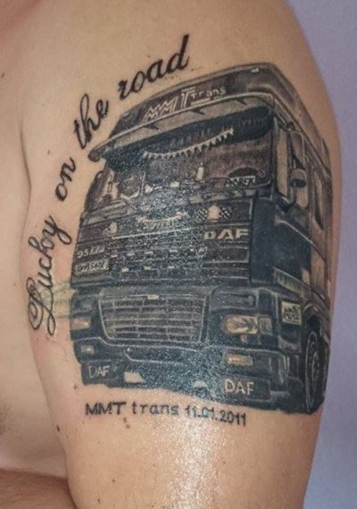 - Tatouages camions - ( photos du net )