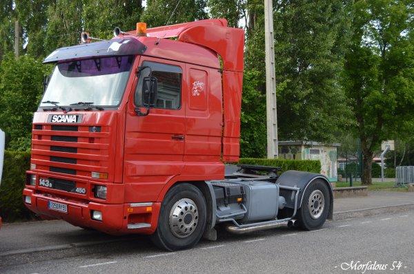 La fete forraine et ses camions ...