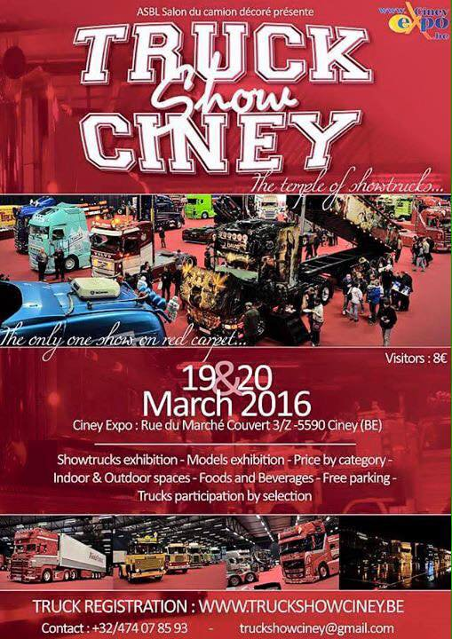 Ciney 2016 - 19 & 20 mars  ...  présent !