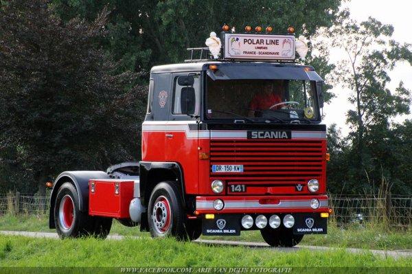 Encore quelques photos récentes trouvées  sur le net / Old School Scania !