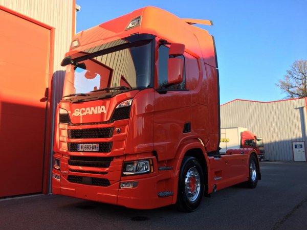 Transports Combemale ... le nouveau  Scania est arrivé ! Trop trop beau !