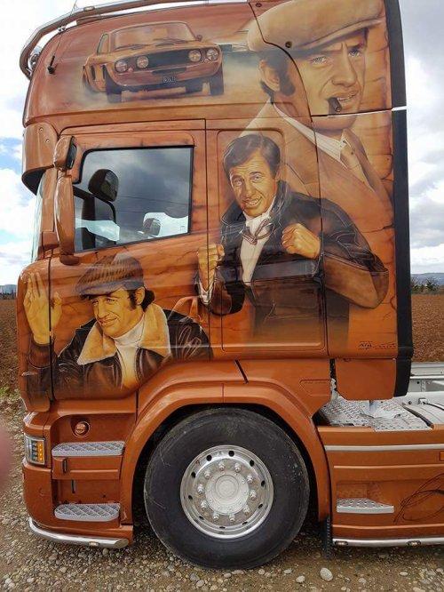 """Grosse surprise de début d'année avec le tout dernier  camion de chez  STC Bébel """" le magnifique """" .... et c'est signé Thierry Grémilliet !"""