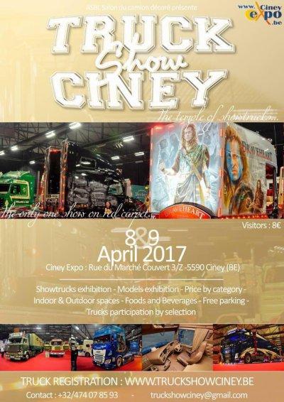 Ciney 2017  approche ! En attendant ... demain visite  chez Rouillon  !