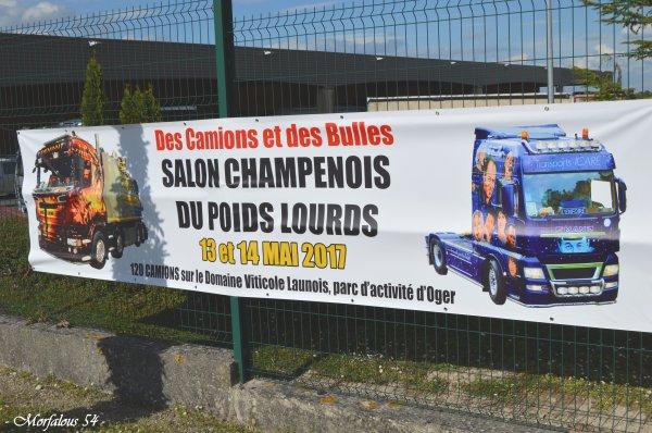 Oger 2017 / Salon champenois du poids lourds 1ère ...