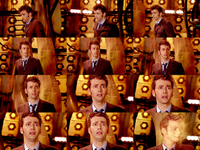 The Tenth Doctor regeneration