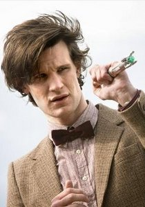 The Doctor with his screwdriver