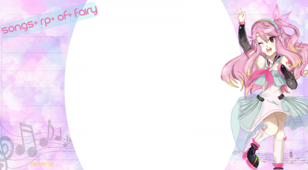 Commande de Songs-RP-of-Fairy / Thème : Fairy