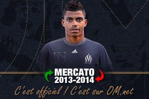 Mario Lemina 5 ans à l'OM 02/09/13 - Mercato 2013-14