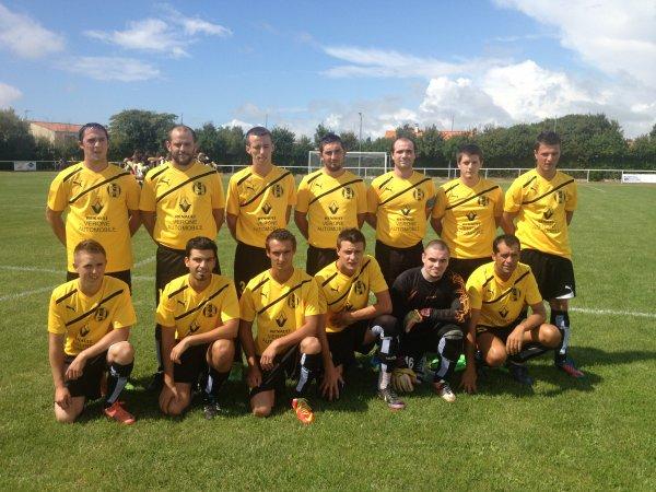 championnat D3  ST ROMANS LES MELLES -- RCF  0-3