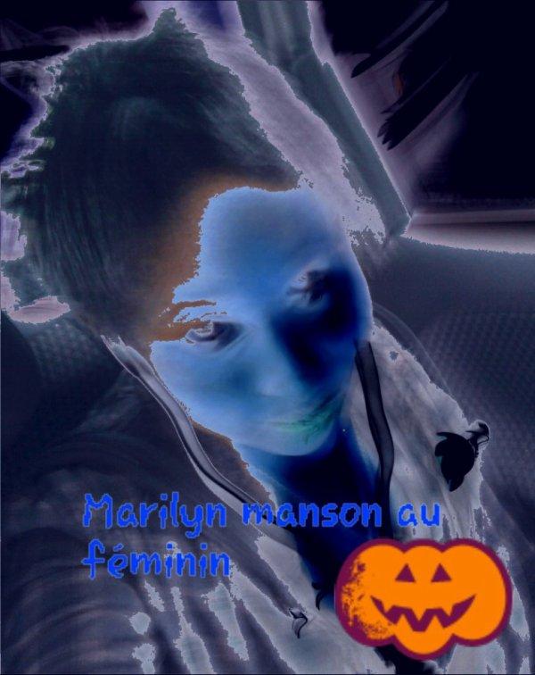 Marilyn Manson au feminin <3
