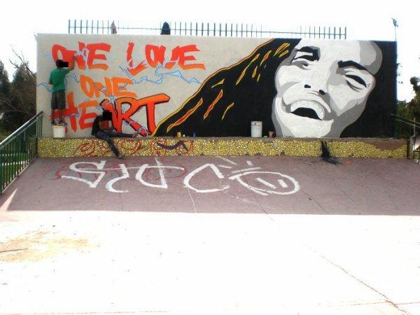 stuco graffiti