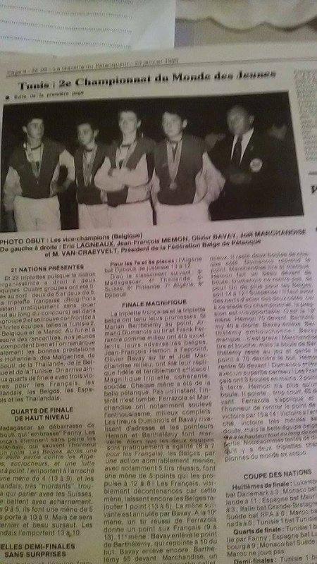 JOEL ARTICLES DE JOURNAUX