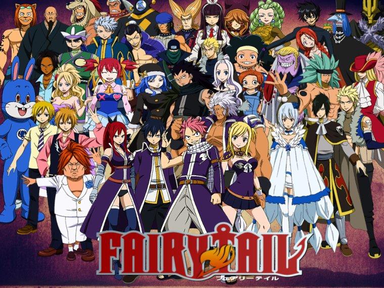 Mon avis sur Fairy Tail(SPOIL)