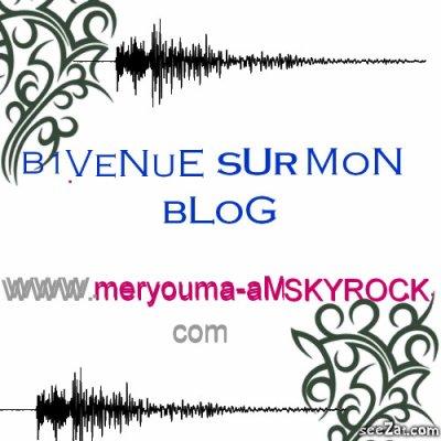 """""""""""B1 VeNue sUr MoOoN BlOoog ''""""         Merci a toutes les personnes qui ont apprécié mon blog, pour ceux que ça intéresse il y a toujours mon blog personnel mèry"""