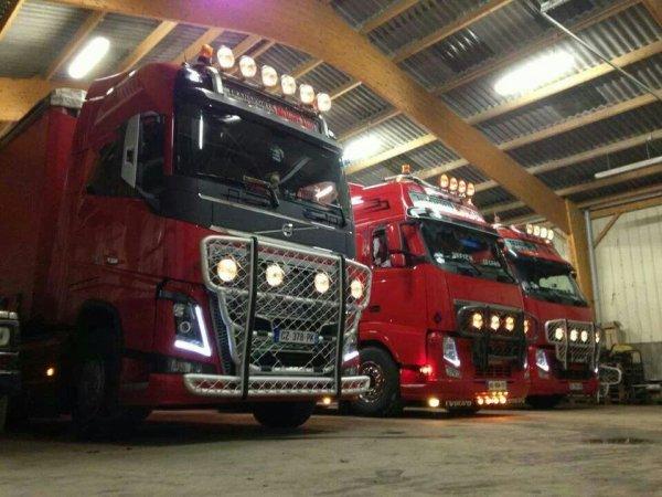 Nouveau Volvo chez la famille moureau