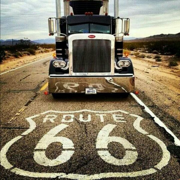 Pas fan des camion us mais une route mythique