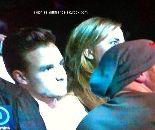 14/09/13: Sophia et Liam ont assisté à un match de lutte à Birmingham