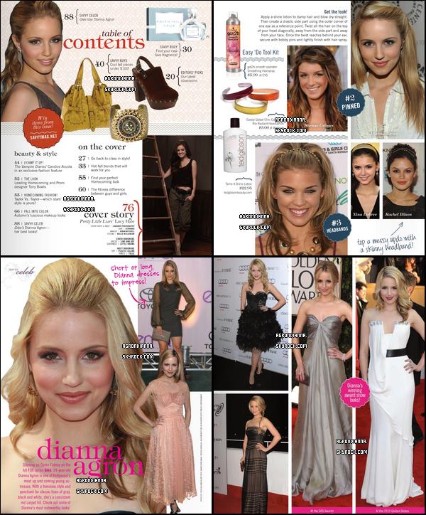 * En exclusivité, voici les scans du magasine « Savvy » pour le mois de Novembre prochain ! *