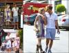* 11 Septembre : Encore une fois, Dianna & Alex ont été aperçus dans Beverly Hills, alors qu'ils se rendaient au restaurant « BeverLiz Cafe » pour déjeuner. So cute ! *