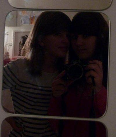 Dans la vie ont a un seul amis mieux que les autres , dans ma vie c'est elle ! <3