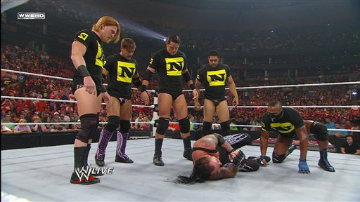 the nexus attacks the undertaker
