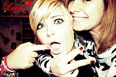 Lucie , une amie en 0r . ♥