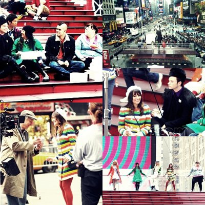 GLEE IN NYC.