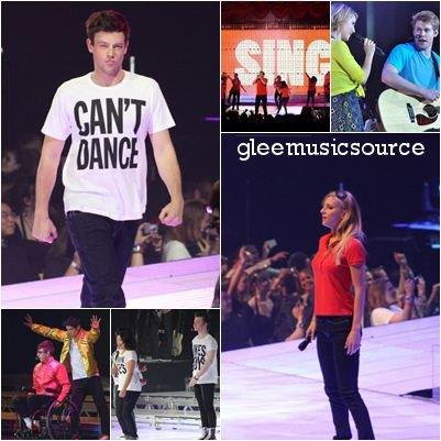 23.05.11 : Glee Live! Tour à Sacramento .