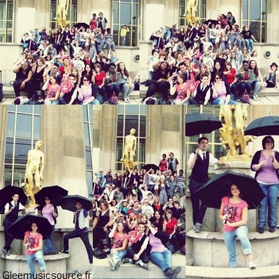 Flashmob Glee 2011 Paris.