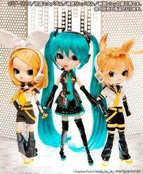 Pullips Rin, Len et Miku