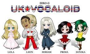 Vocaloids Américains