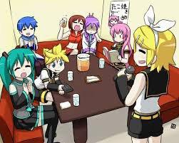 Faisons un petit karaoké après les cours!