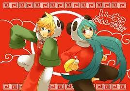China Miku and Len