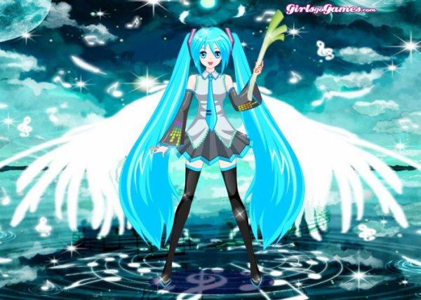 Hatsune miku, dress up!
