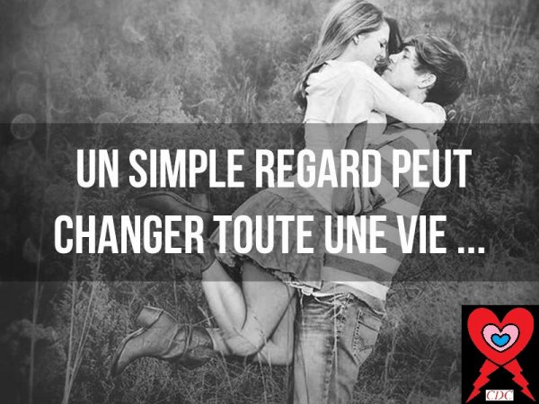 Un simple regard peut...