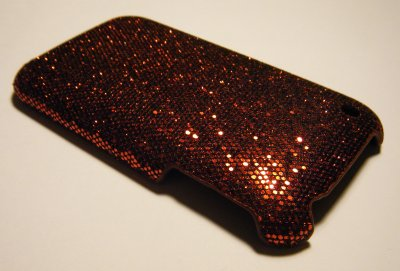 Coque Rigide Disco Rouge iPhone 3G/3GS