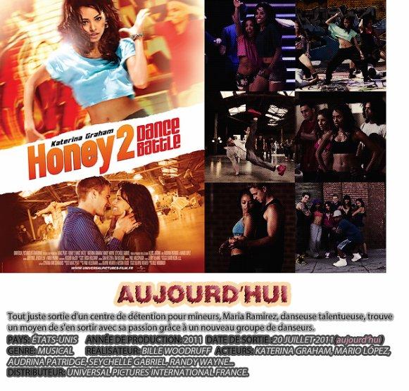 Aujourd'hui sortie du film Honey 2 avec kat Graham ! <3