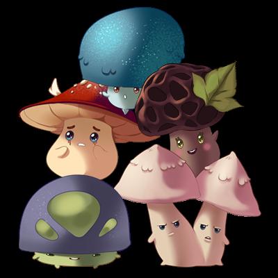 Personnage : Les Myconides