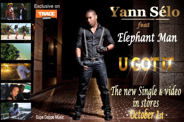 "Le 1er single Pop-Electro de Yann Sélo ""U got it"" feat Elephant Man extrait de l'album ""Melting Pot"" (2013)"