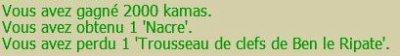 Trousseau de Ben le Ripate
