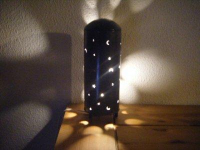 lampe tube nuit