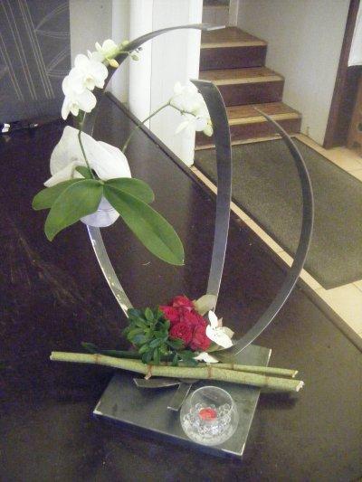 porte orchidée mariage elo et seb