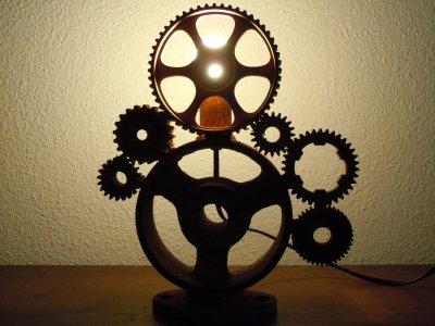 lampe le temps qui passe