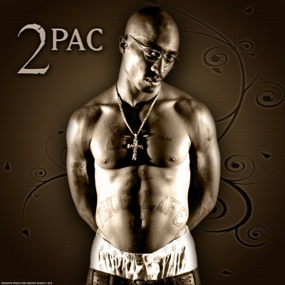 Rest in peace Tupac Amaru Shakur By Dramatik Production Graphic Design