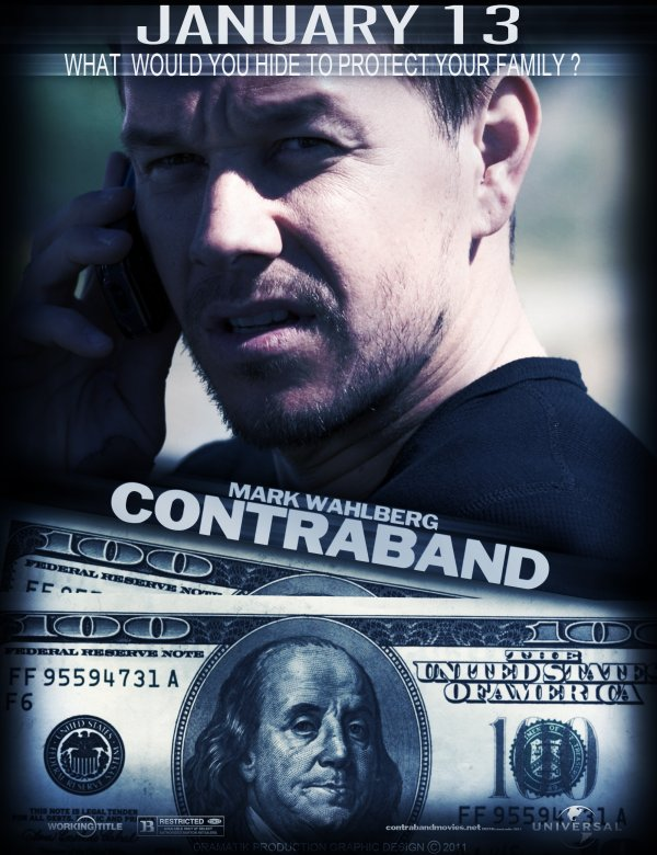 Contraband Mark Wahlberg 13 Janvier 2012