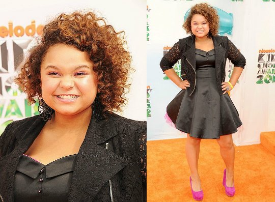 Rachel Crow Aux Kid's Choice Award