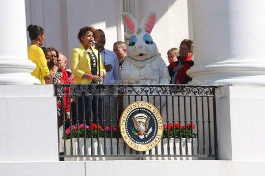 Rachel  à La White House